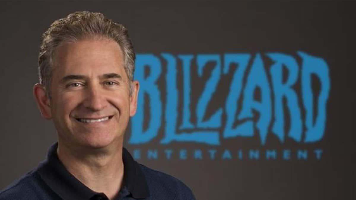 Mike Morhaime, fundador e ex-presidente da Blizzard, sorrindo