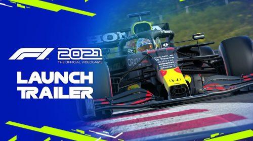 Trailer de lançamento de F1 2021 destaca circuitos e modo Braking Point