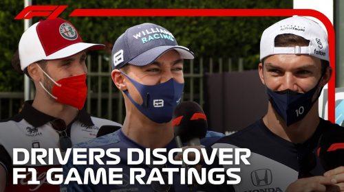 EA e Codemasters colocam os pilotos para adivinharem seus status em F1 2021