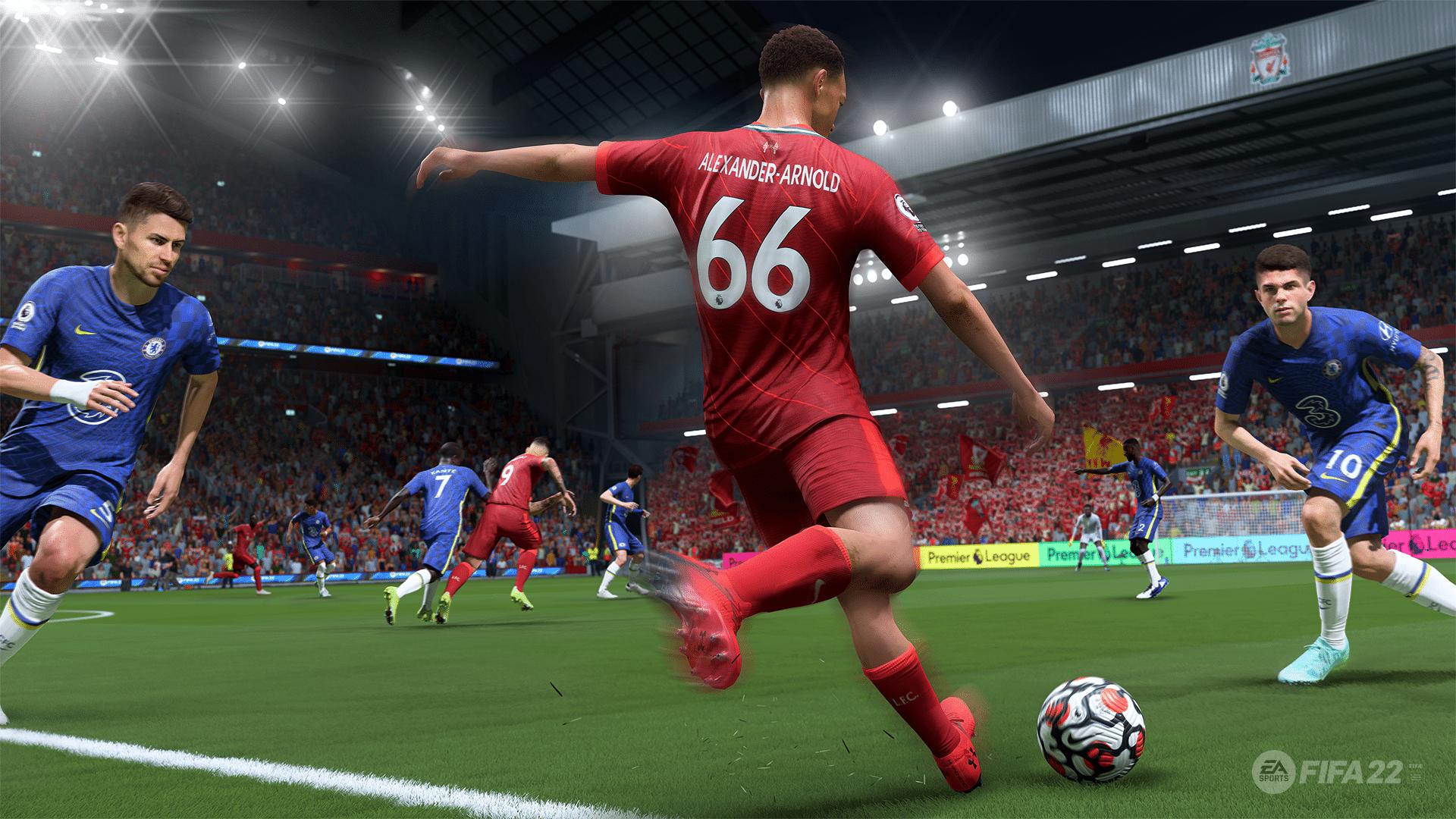 FIFA 22 tem passes super eficientes