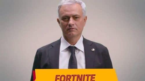 José Mourinho, treinador da Roma, diz que Fortnite é um