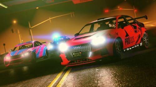 GTA Online terá carros exclusivos quando for lançado para PS5 em novembro