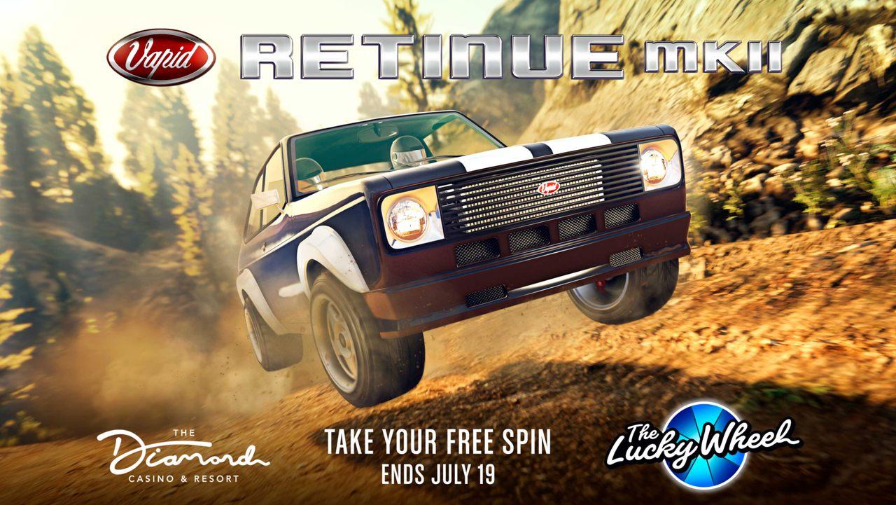Imagem de um veículo da Roda da Fortuna de GTA Online
