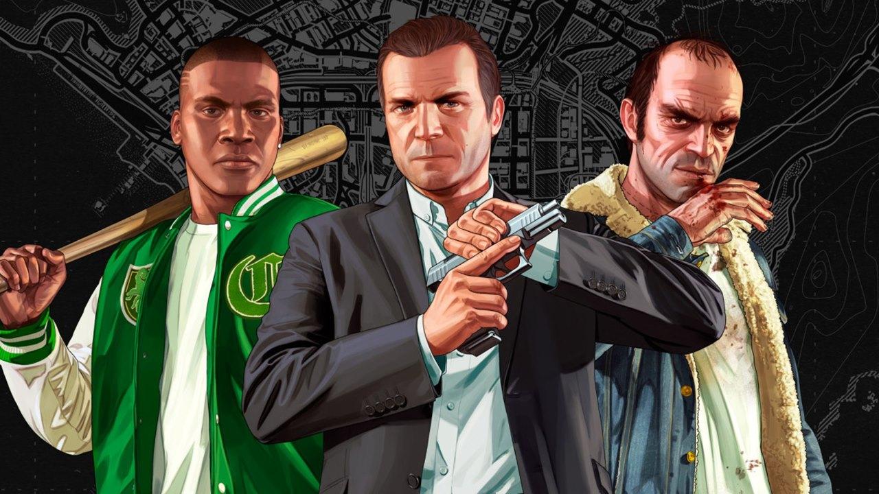 Personagens de GTA V.