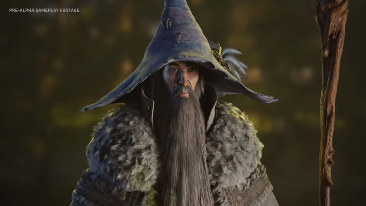Imagem do Gandalf em The Lord of the Rings: Gollum