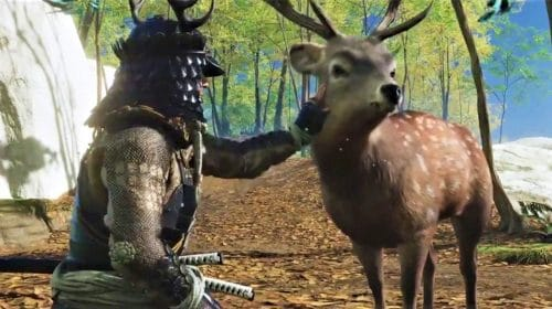 Ghost of Tsushima: Jin poderá acariciar novos animais na Ilha Iki