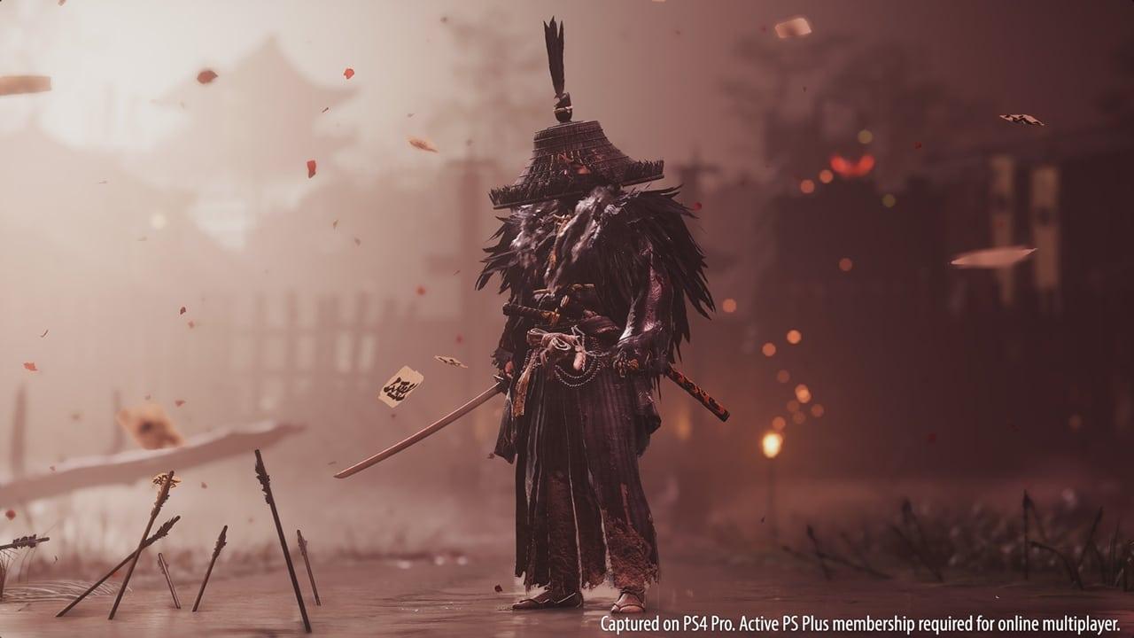 Armadura de Ghost of Tsushima.