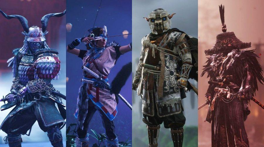 Ghost of Tsushima recebe skins inspiradas nos grandes jogos da PlayStation Studios