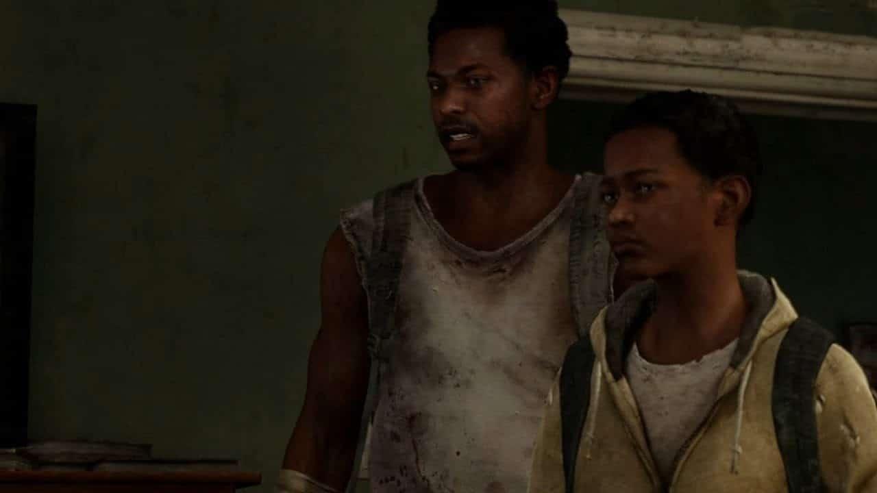 Henry e Sam - personagens de The Last of US