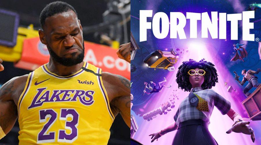 Saúdem o King James! LeBron chega a Fortnite nesta quarta-feira (14)
