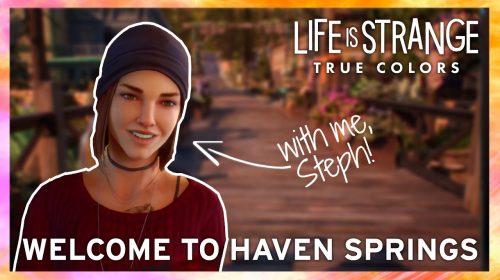Novo trailer de Life is Strange: True Colors foca na cidade Haven Springs