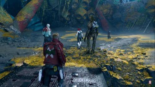Dev comenta sobre o gameplay e design de Marvel's Guardians of the Galaxy