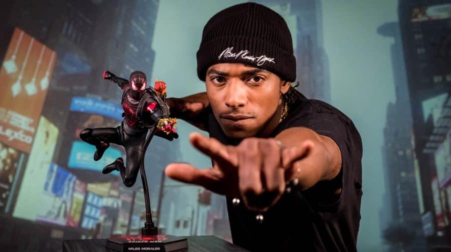 Marvel's Spider-Man 2? Ator de Miles Morales publica foto com equipamento de mocap