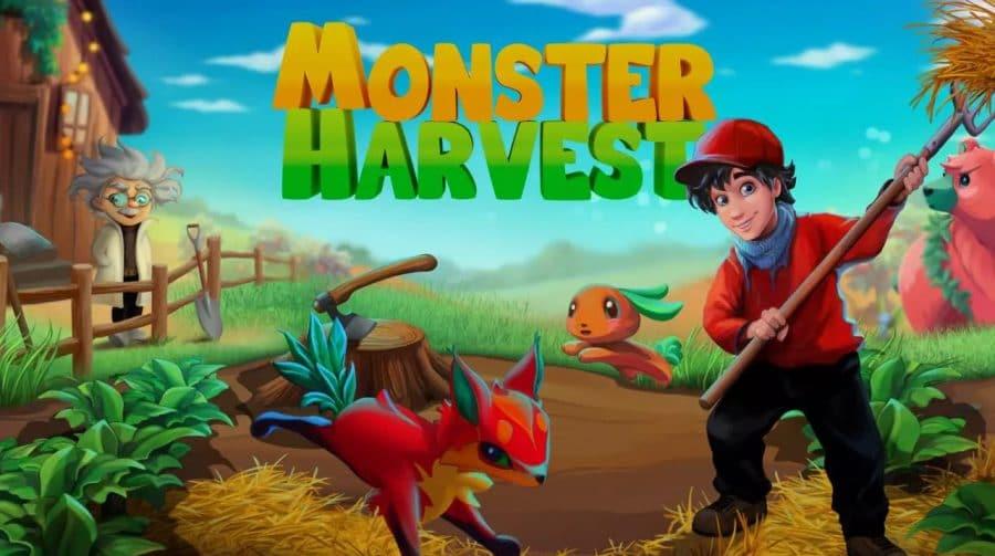 Monster Harvest chega em agosto ao PS4 com localização completa em PT-BR