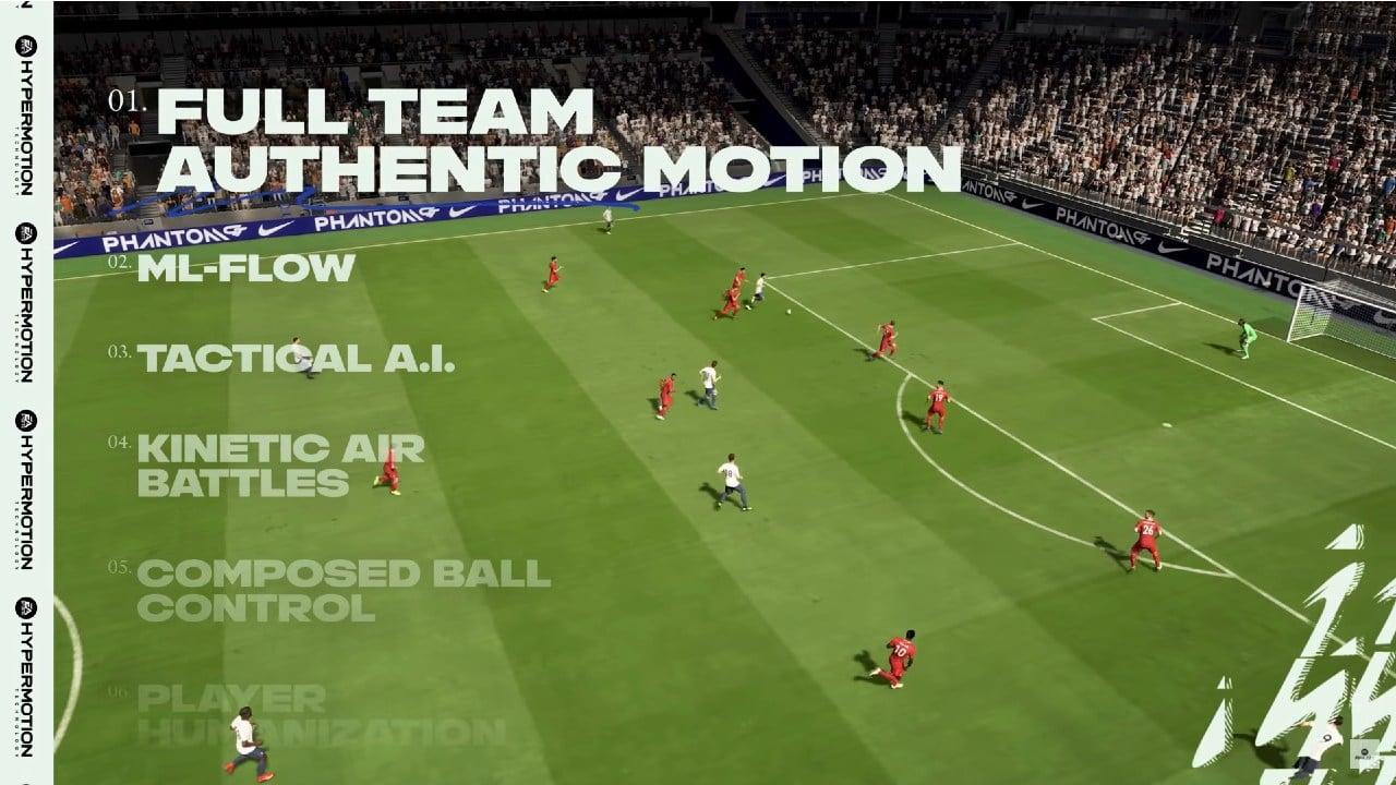 Movimentação em equipe - Gameplay de FIFA 22