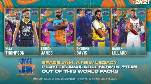 NBA 2K21 recebe pacote temático de Space Jam: Um Novo Legado