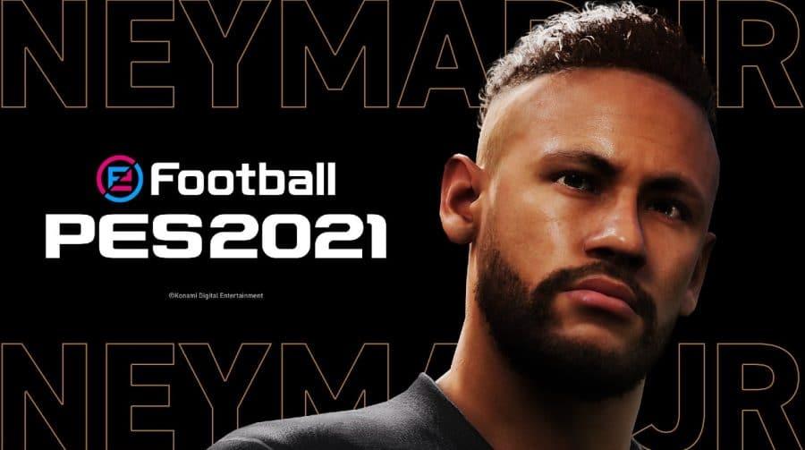 Capa do PES 2022? Konami anuncia Neymar como embaixador