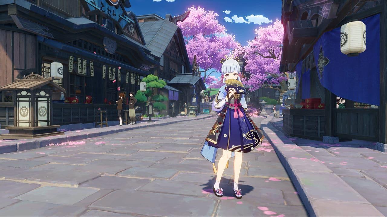 Imagem do update Genshin Impact 2.0