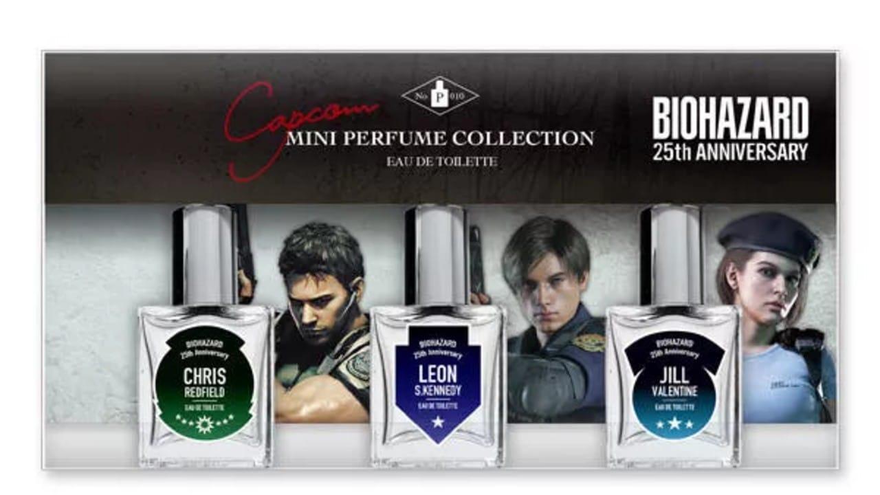 Perfumes de Resident Evil