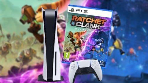 Volta do PlayStation 5 aos estoques dispara vendas de Ratchet & Clank no Reino Unido