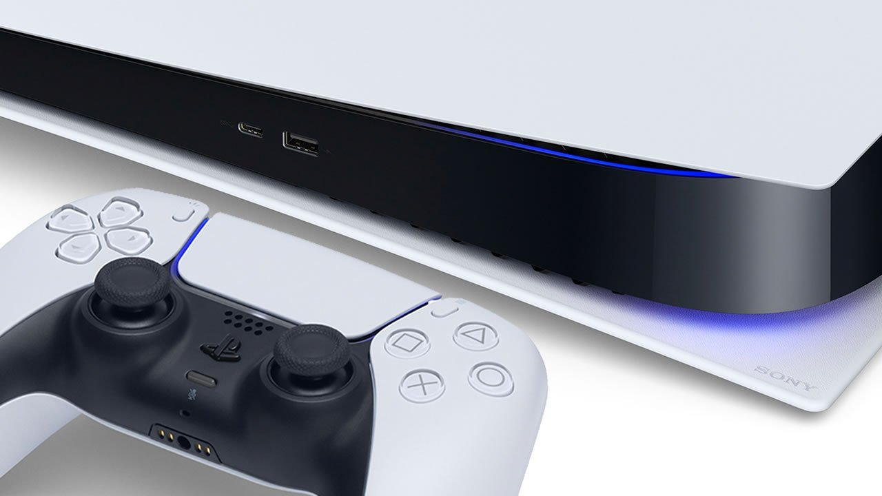 PlayStation 5 e controle DualSense