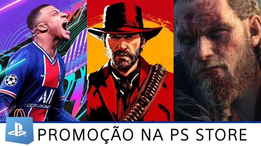 Promoção na PS Store: jogos com até 60% de desconto