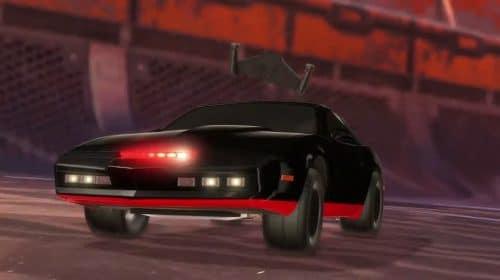 Rocket League traz de volta o carro K.I.T.T de Knight Rider