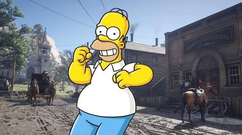 Jogador de Red Dead Online recria Homer Simpson no game