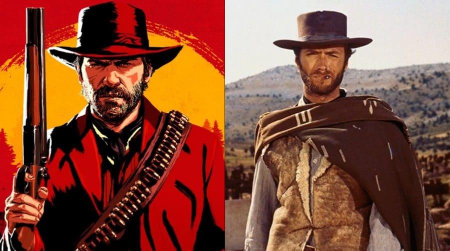 Red Dead Redemption 1 e 2 têm o mesmo easter egg de Clint Eastwood