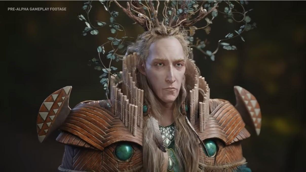 Imagem do Rei Élfico em The Lord of the Rings: Gollum