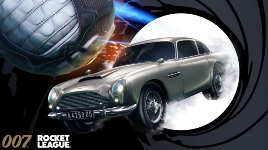 Psyonix leva o Aston Martin, carro do James Bond, para o Rocket League