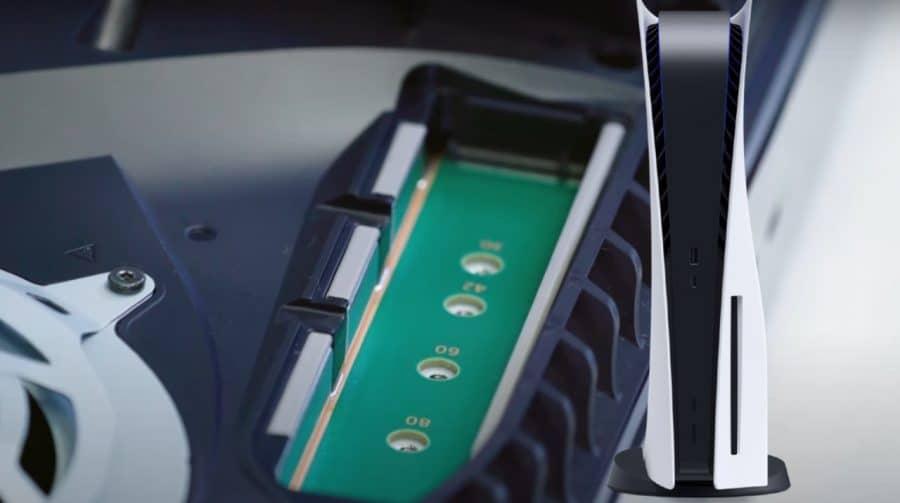 Sony prepara update para expansão do SSD do PlayStation 5