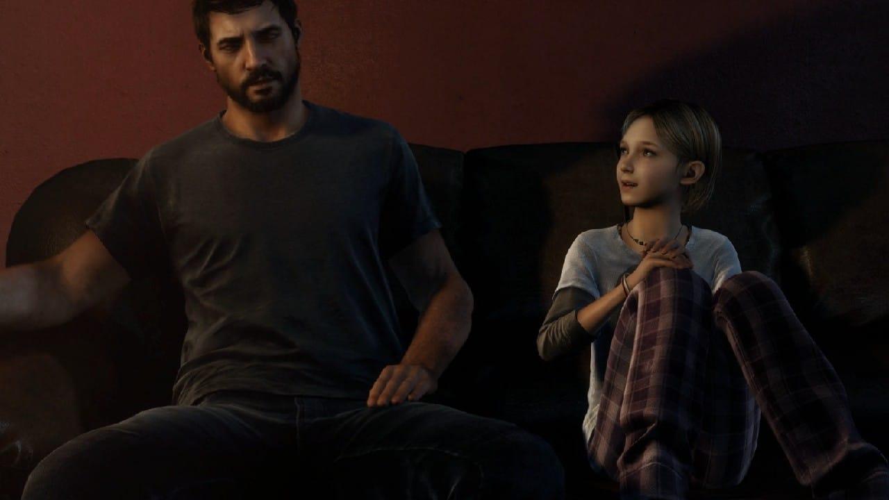 Sarah e Joel - Personagens de The Last of Us