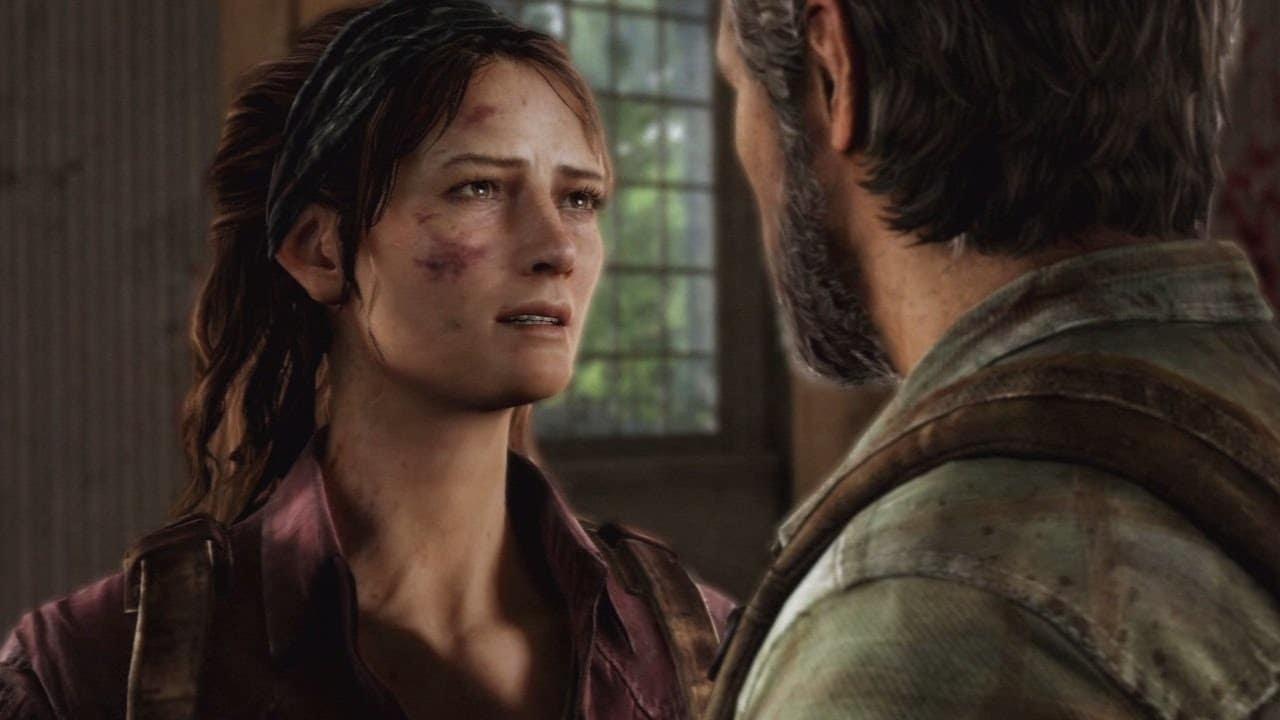 Tess e Joel Série de The Last of Us.