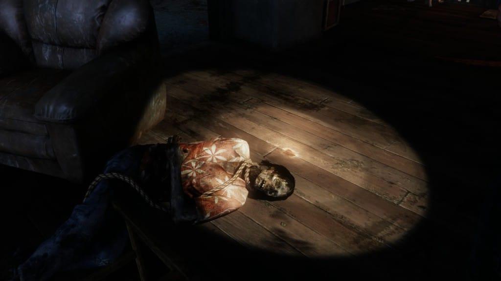 Imagem da matéria sobre a série de The Last of Us com o corpo de Frank no primeiro jogo