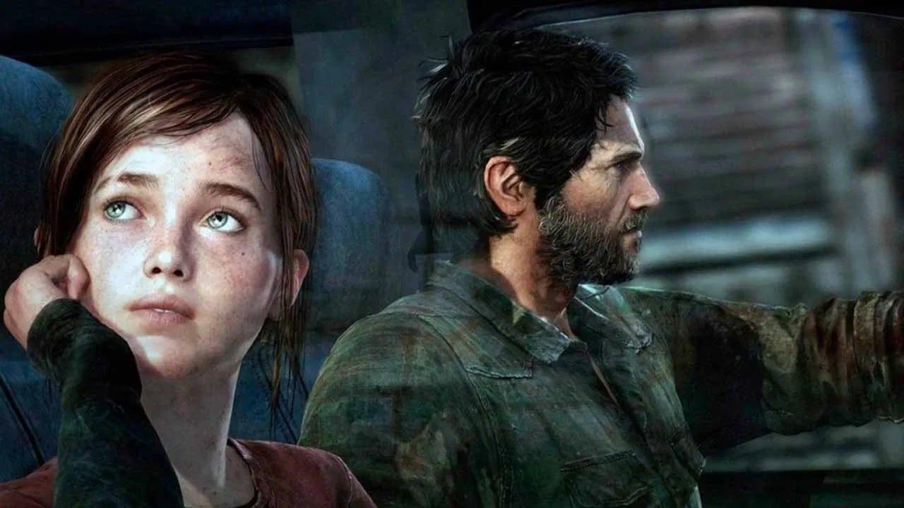 Série de The Last of Us - joel e ellie no carro