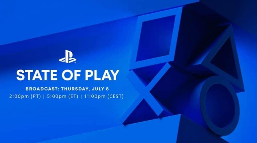 Confirmado! Próximo State of Play está agendado para esta quinta-feira (08)