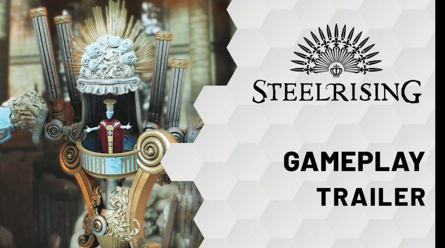 Steelrising será lançado em junho de 2022, anuncia Nacon