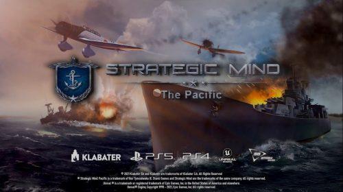 Strategic Mind: The Pacific e Blitzkrieg chegam em agosto ao PS4 e ao PS5