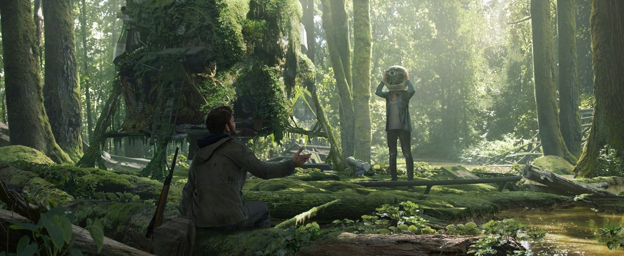 Ellie e Joel em The Last of Us 2.
