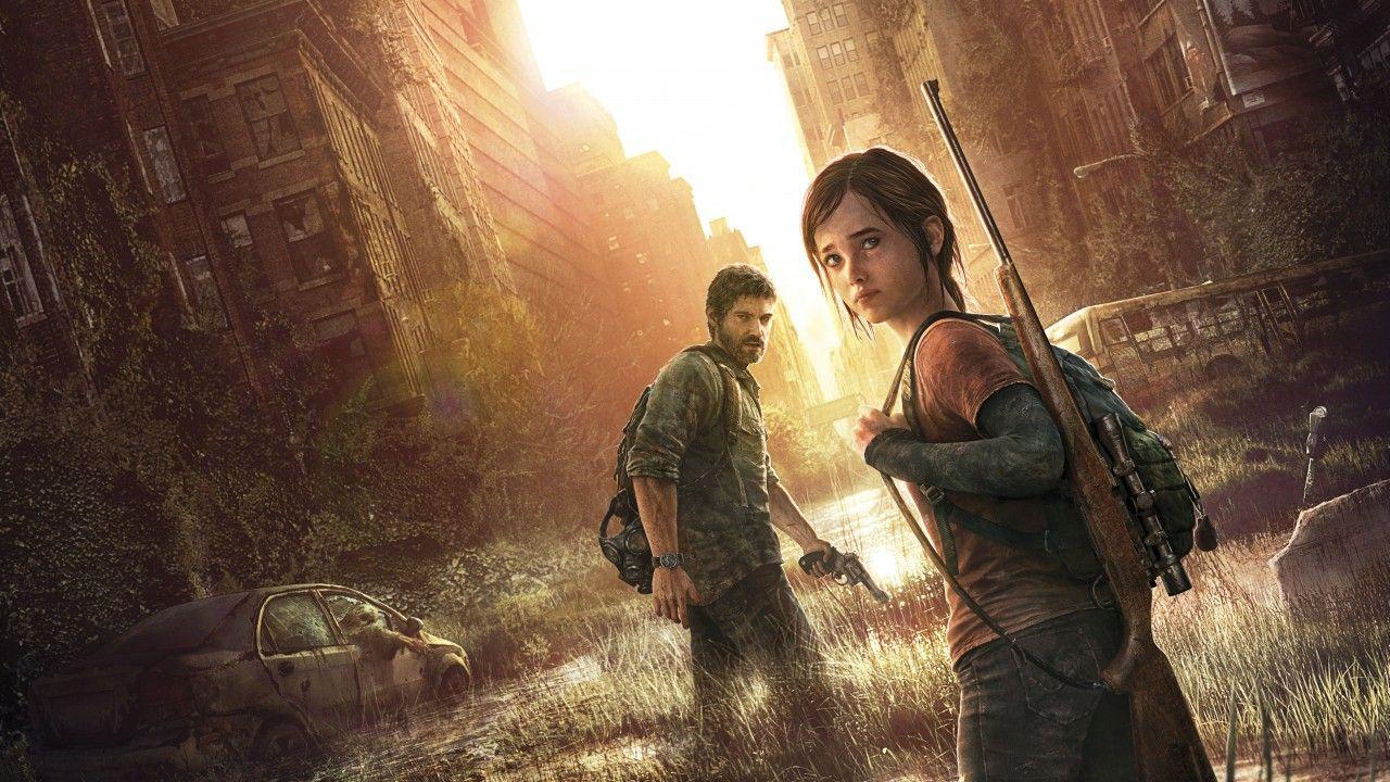 Personagens de The Last of Us - Ellie e Joel
