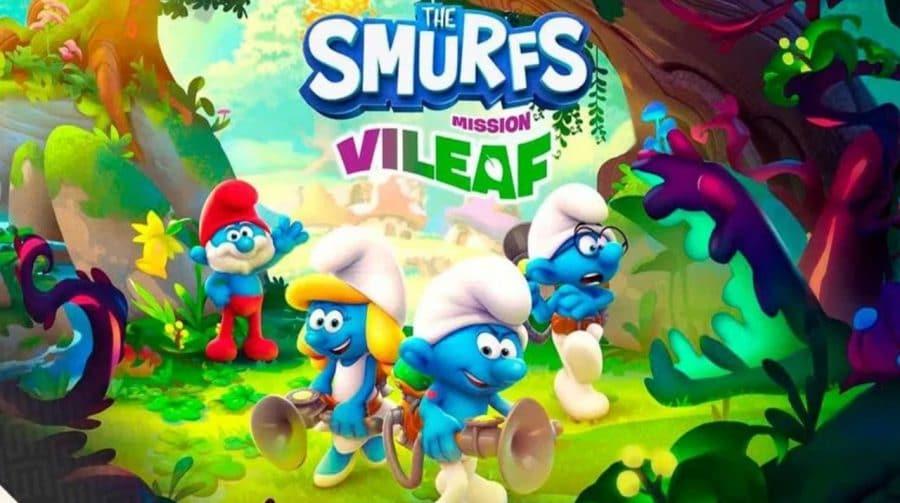 O jogo dos Smurfs chega em outubro ao PS4, mas só em 2022 ao PlayStation 5