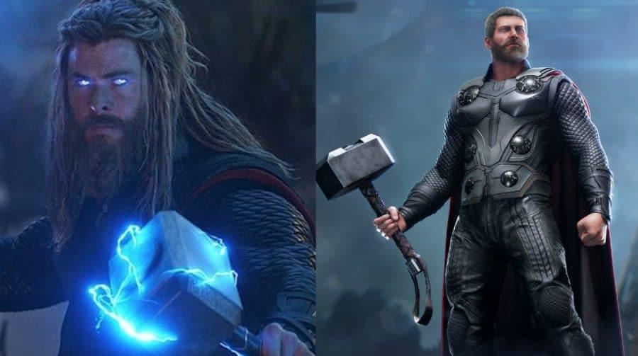 Skin de de Thor em Vingadores: Ultimato chega ao Marvel's Avengers