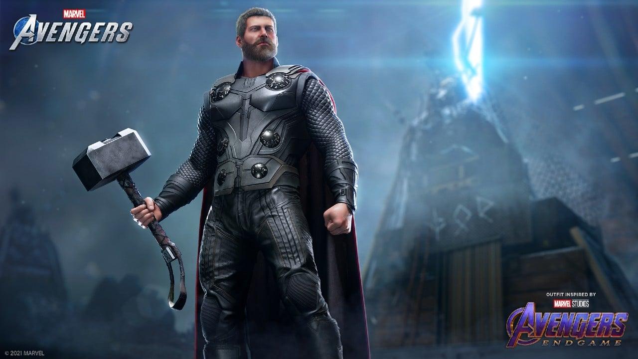 Thor em marvel's Avengers (2)
