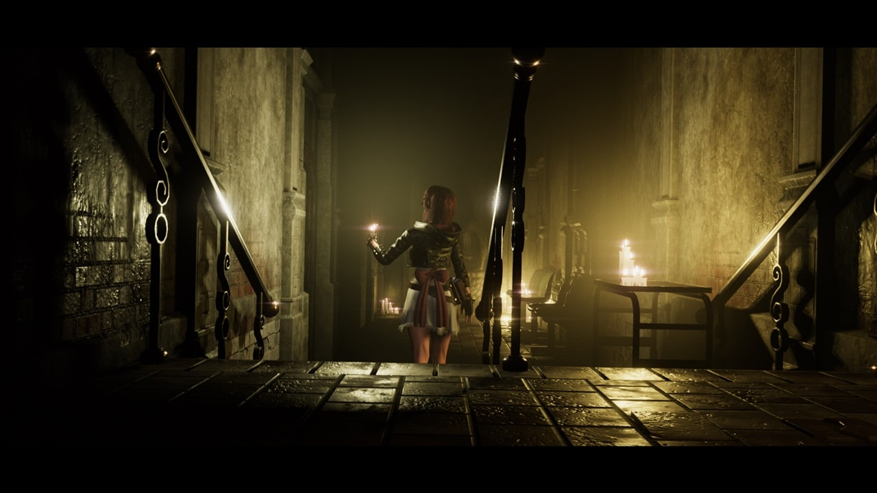 Cena do jogo Tormented Souls.