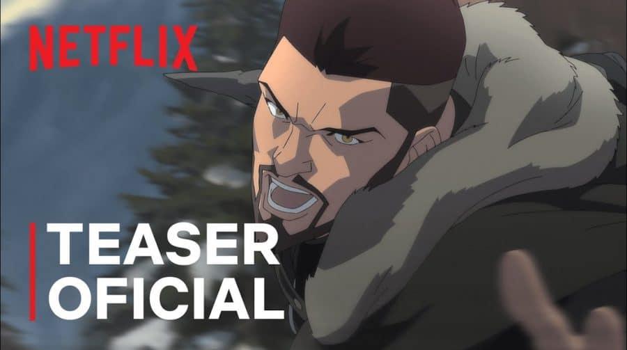 Netflix divulga trailer dublado de The Witcher: Lenda do Lobo