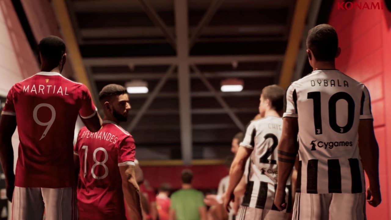 Tudo sobre eFootball - novo PES Dybala, Martial e Bruno Fernandes