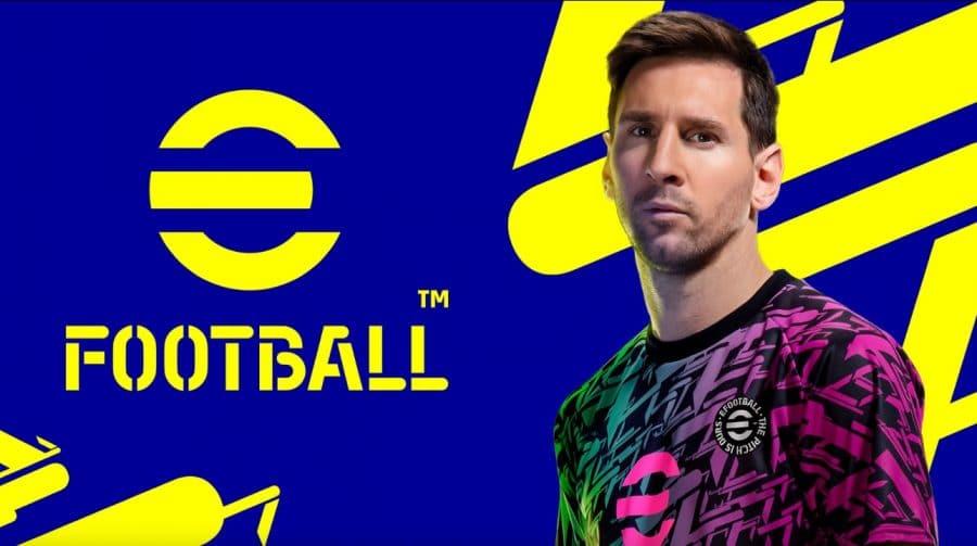 PES muda para eFootball e agora é free to play