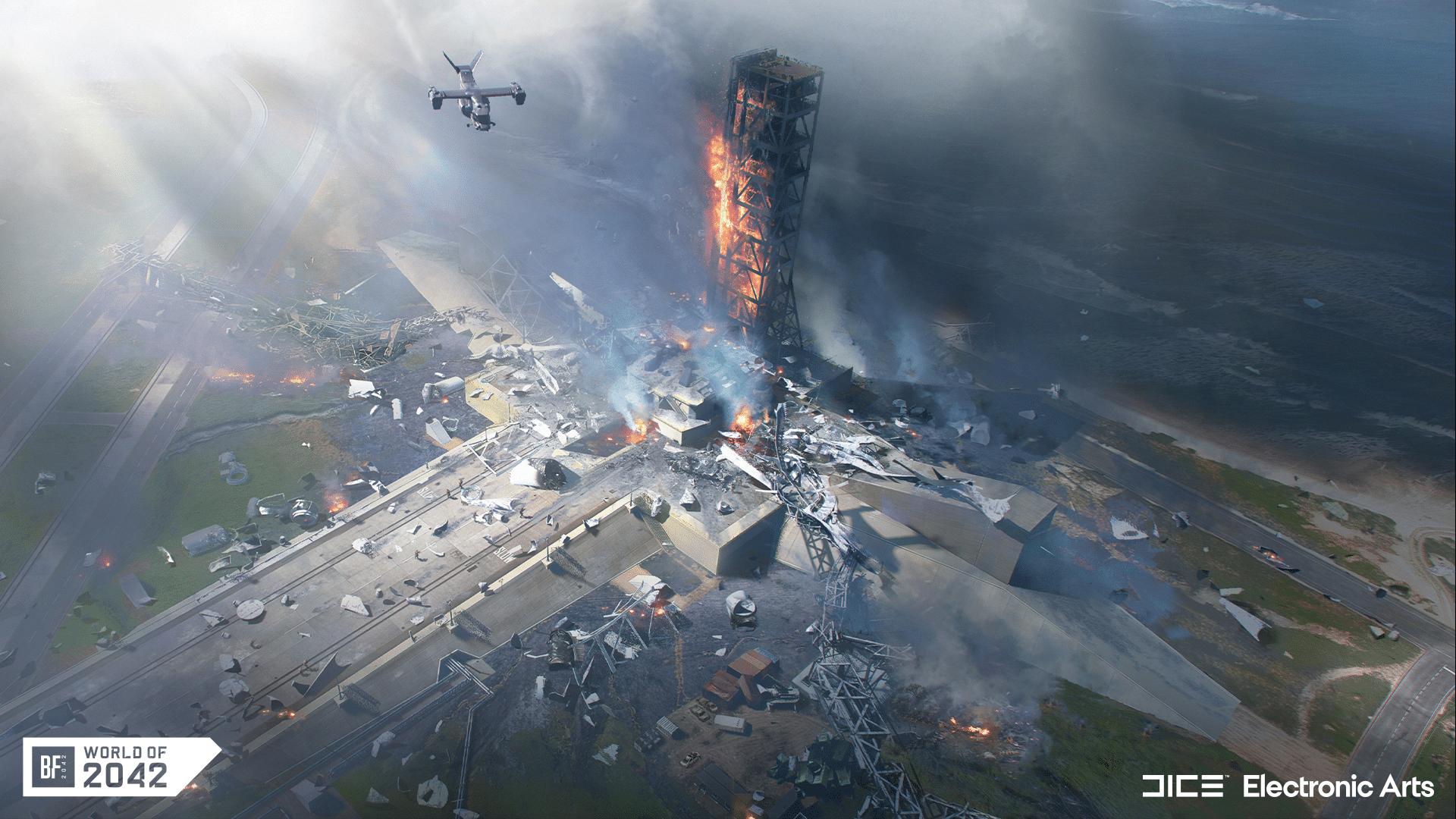 O caos está liberado em Battlefield 2042 (Foto: Divulgação/EA)