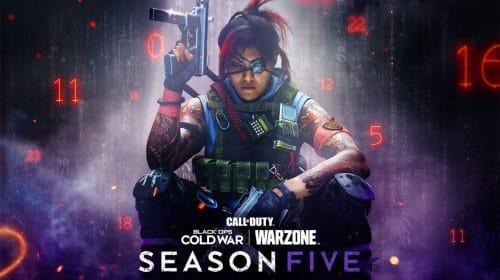 5ª temporada de Warzone e Black Ops Cold War começa no dia 12; veja trailer!